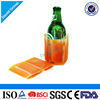 Reusable PVC+gel Reusable Gel Beer Bottle Cooler Sleeve