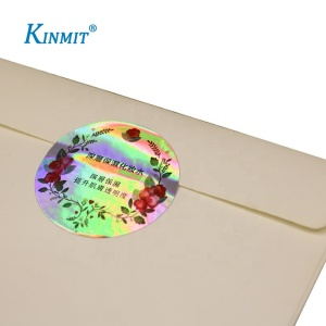 Hot Sale Custom Logo Printed Color Changing Hologram Sticker Label