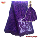 Mr.Z Purple African Lace Heavy French Lace With Sequins For 2018 Wedding