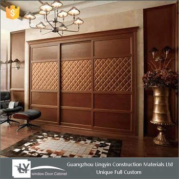 2015 Antique Design Bedroom Wooden Wardrobe Design In Dubai