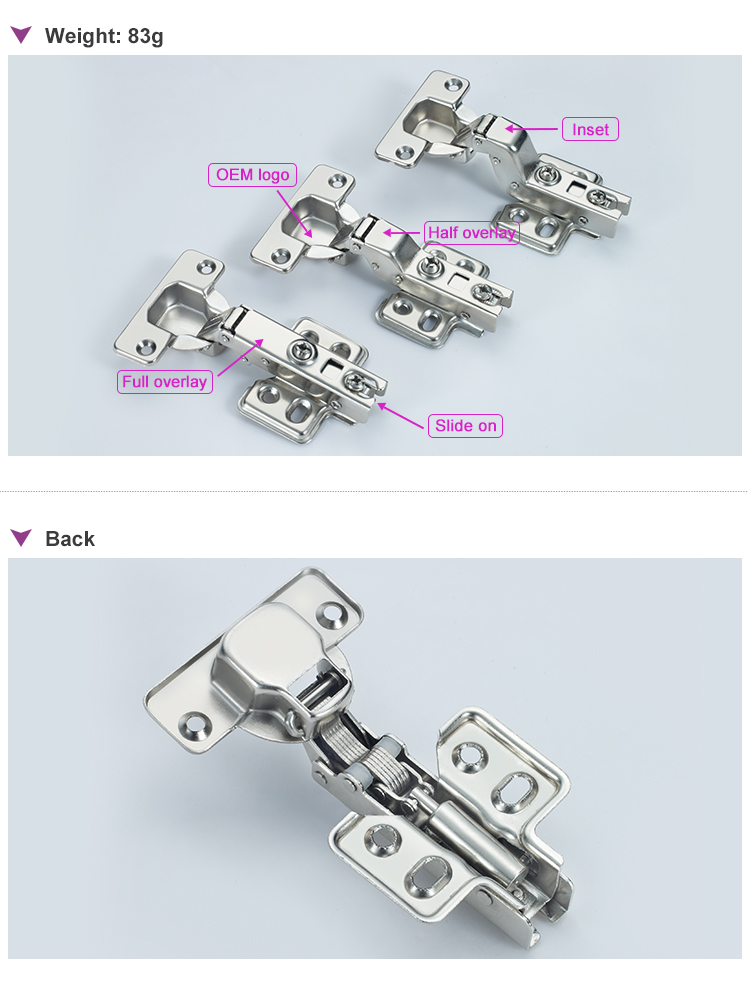 Hydraulic Soft Close Hinges For Kitchen Cupboards Doors