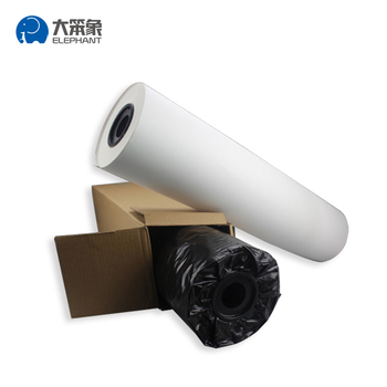 Factory direct sale sublimation paper roll size for garment
