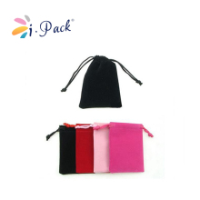 custom black soft microfiber eye glasses pouch bags with drawstring