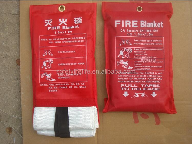 Emergency fiberglass welding fire blanket
