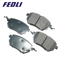 TS16949 Certification wholesale Low price auto part front ceramic disc Brake Pad for Opel ASTRA G OE 1605 959