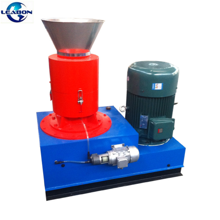 Completed CE Home Use Flat Die Biomass Straw Wood Pellet Machine for sale