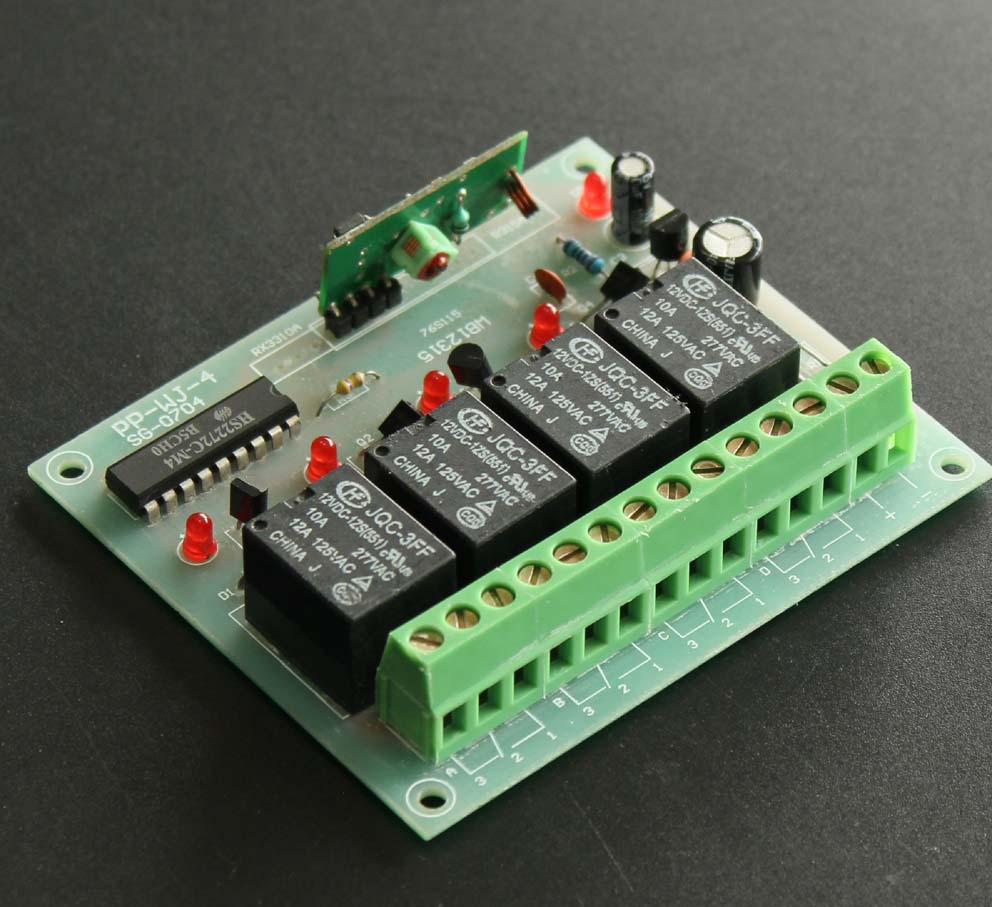 China Door Receiver Wholesale Alibaba Rf Remote Control Circuit Board Garage 315 433mhz