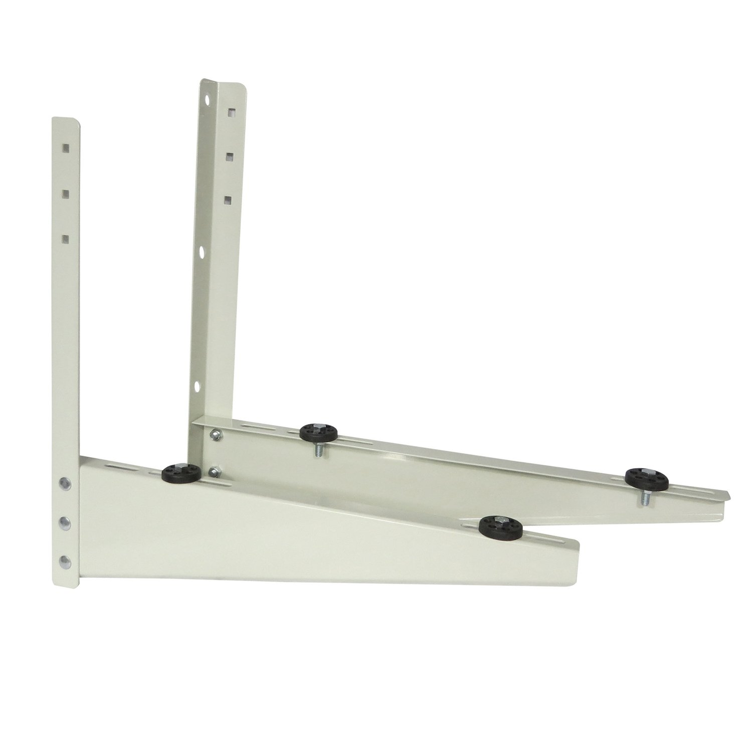 Discount Mini Split Wall Bracket & Ductless Heat Pump Support - Condenser Mounting Rack for Air Conditioner. Painted Steel for Mini Split Systems