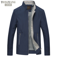TONGYANG 2018 Men Autumn Jackets and Coats Jaqueta Masculina Male Causal Fashion Slim Fitted Large Size Zipper Jackets Hombre