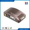 China factory hot sale vga to av video converter cctv accessories converter adapter