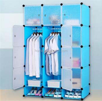 DR Selling Unique Plastic Wardrobe Waterproof Storage Closet