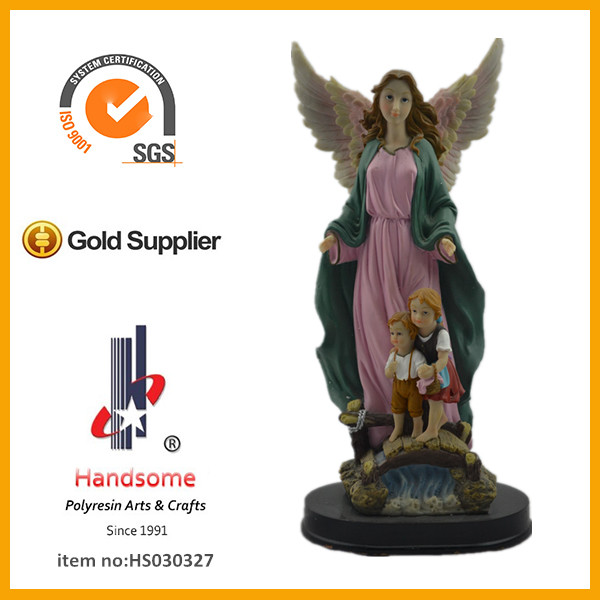 Musical Angel resin angel figurine for Church Souvenirs.Church Gift