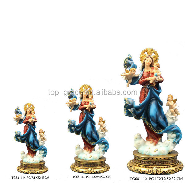 Maria with angel promotional christian religious items