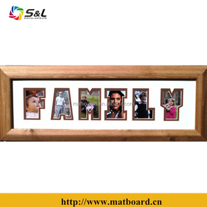 hot sale photo name mat/frames with verious design