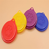 Paw print cartoon triad dog food cover Collapsible dog bowl