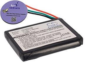 vintrons (TM) Bundle - 600mAh Replacement Battery For GARMIN 361-00041-00, + vintrons Coaster