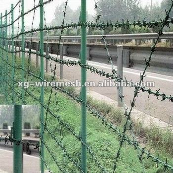 An Inexpensive Fencing Option Thorn Rope Fence(factory,Low Price ...