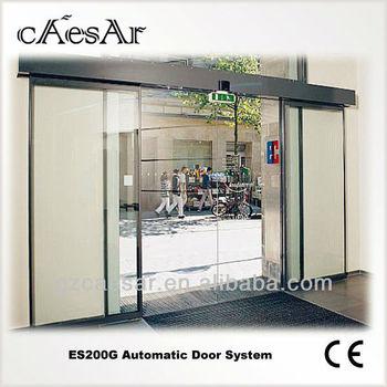 sistema de puertas correderas de cristal sin marco exterior esg