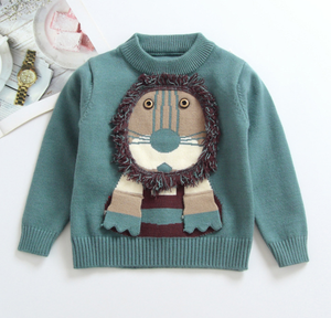 Baby Quality Cotton Sweater New Boys Girls Cute Clothing Children Kids Clothes Sweater Shirt Pullover Sweater