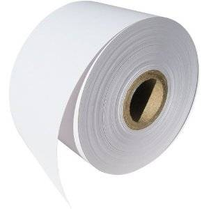6 Rolls FREE SHIPPING - Dymo 30270 Compatible Non-Adhesive Continuous Receipt Paper - OfficeSmart for DYMO LabelWriters 330 400 450 Twin Turbo Duo 4XL Printer