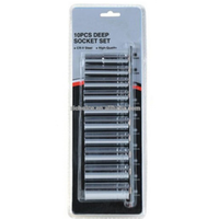 9pcs 1/4''DR.professional mini Deep Socket set