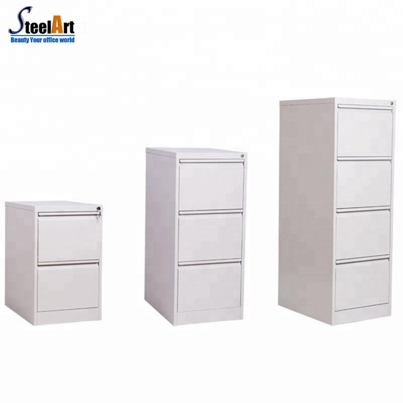High quality 4 4 drawer storage filing cabinet