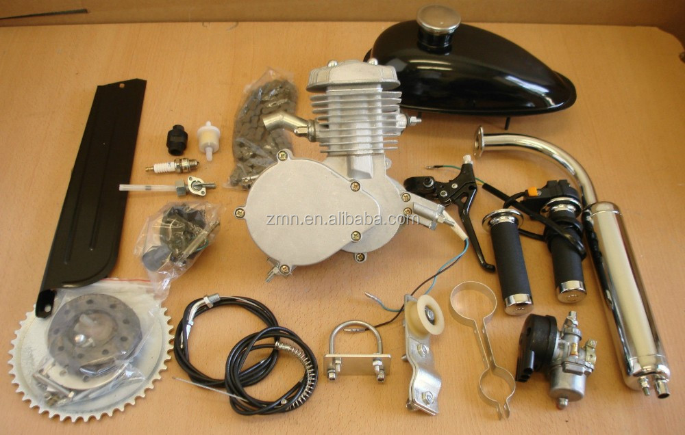 80cc Motorized Bicycle 2 stroke bicycle engine kit/ Gasoline Engine factory price