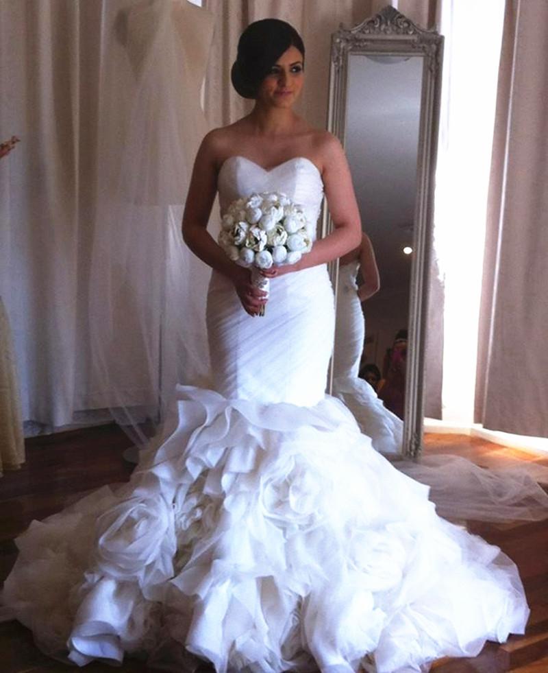 Mermaid Style Wedding Gowns: 2016 New Style Mermaid Style Sweetheart Wedding Dress