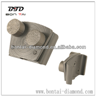 BTD Quick change system grinding flooring tool metal grinding pads China suppliers