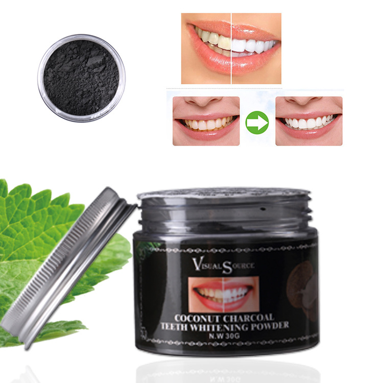 Coconut Shells Activated Carbon Teeth Whitening Scaling Powder Bamboo Oral Teeth Care Cleaning Activated Charcoal Tooth Powder