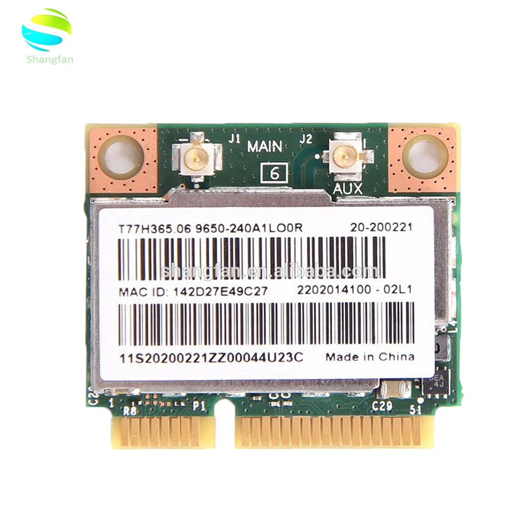 Wireless Adapter Card Broadcom BCM943228HMB Mini PCI-E PCI Express Wifi  Wlan Card Adapter 300Mbps + Bluetooth 4 0 802 11a/b/g/n