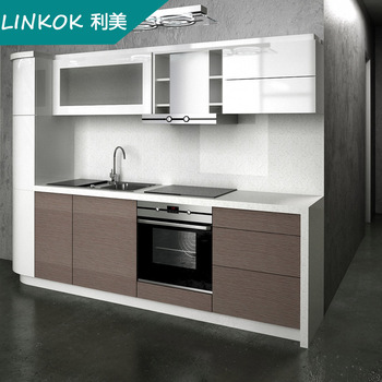 Cherry Lacquer Kitchen Cabinet And Melamine Kitchen Cabinets Free Standing  And Lacquer Spray Paint Kitchen Cabinets - Buy Modern China Kitchen ...