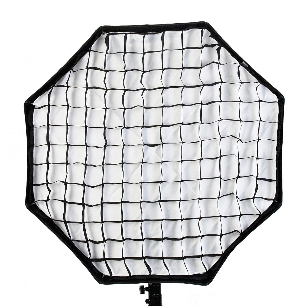 Grided Softbox for portrait photography