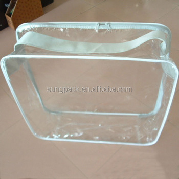 Plastic Pvc Blanket Bag Manufacturer With Handle And