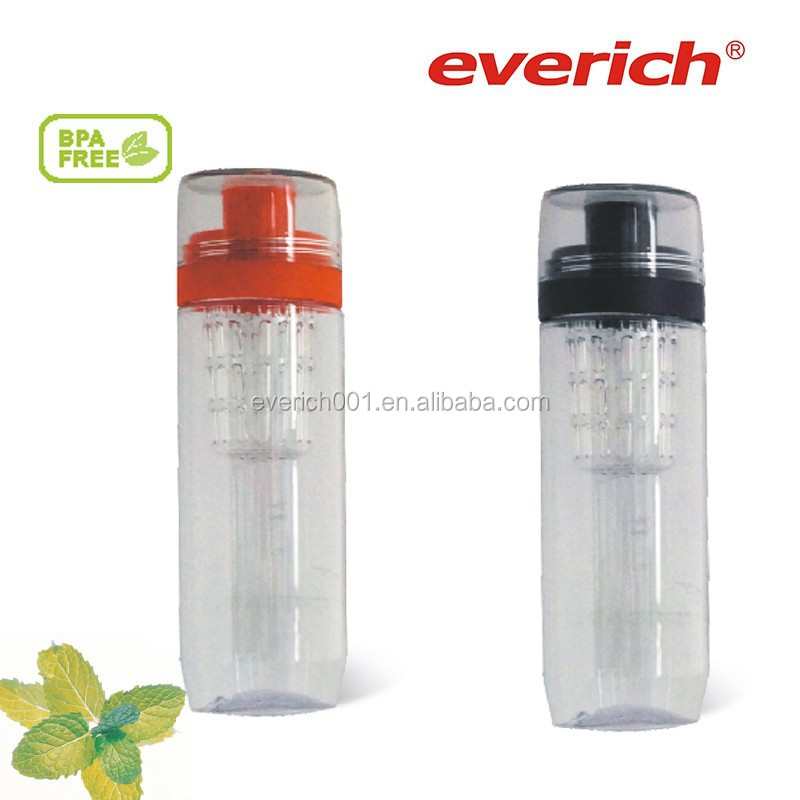 650ml Plastic water bottle with twist cap for juice