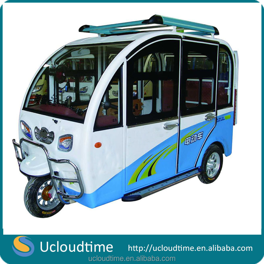 Radial Tire 6 seat small electric china cars in pakistan tricycle