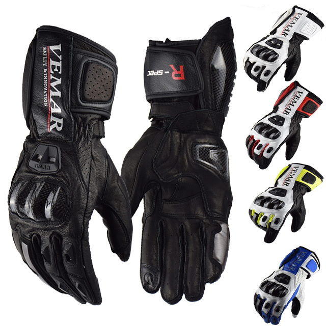 Vemar Winter Moto GP <strong>Motorcycle</strong> <strong>Riding</strong> Gloves Leather Racing Motocross Long Glove MTB MX Cross Windproof Touch Screen Luvas