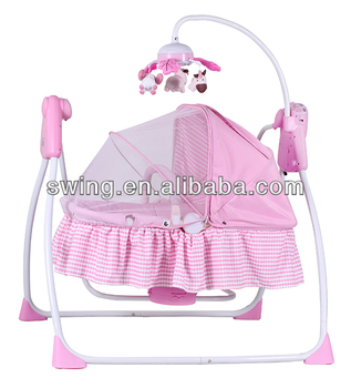 Automatic Baby Pink Swing Chair
