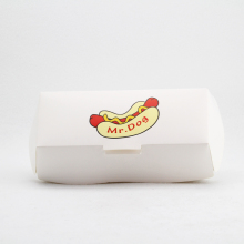 Hot selling eco-friendly custom packaging hot dog paper box