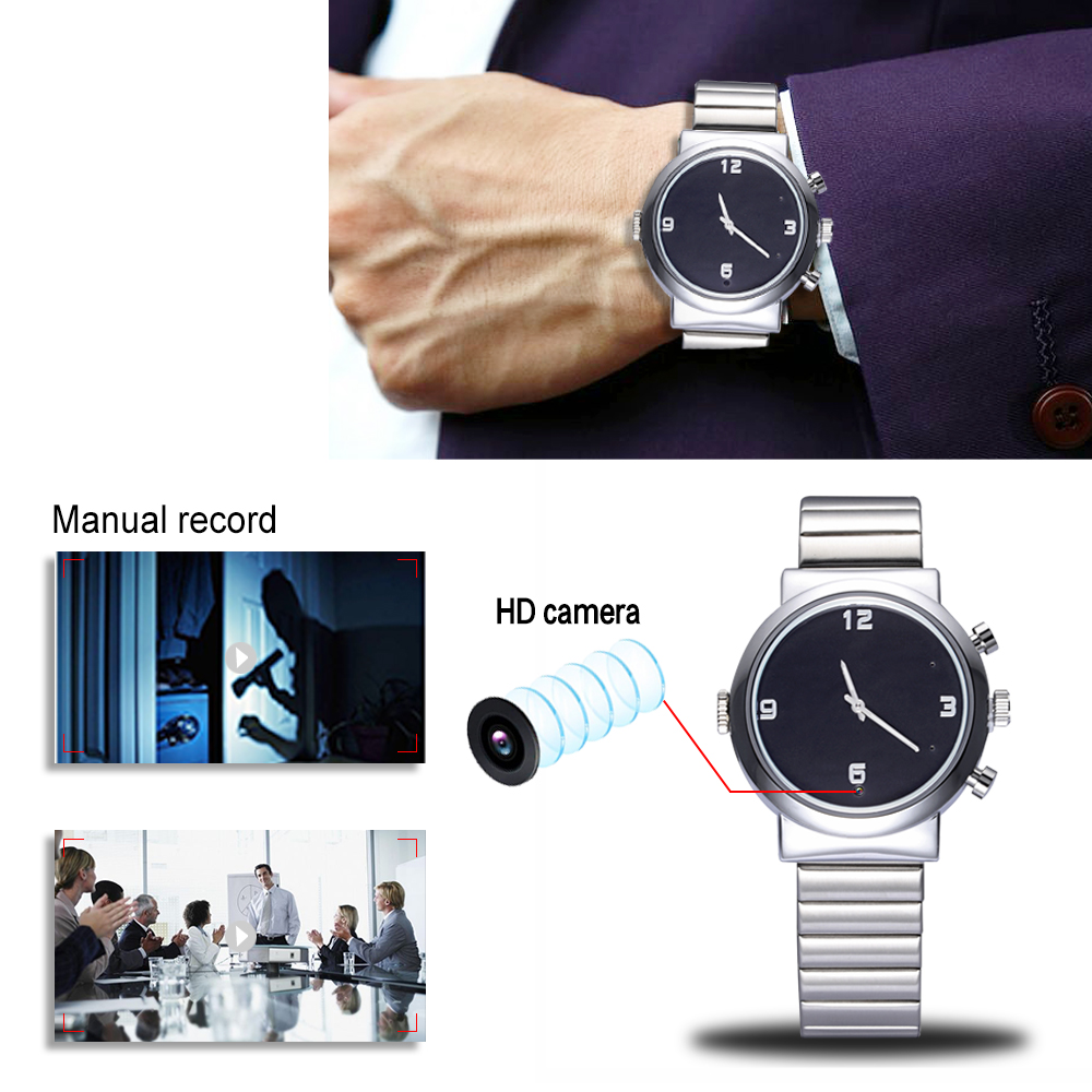 Waterproof Watch DVR Built-in 16GB watch mini Hidden DVR video recorder 1920*1080P 30fps Sports wrist watch