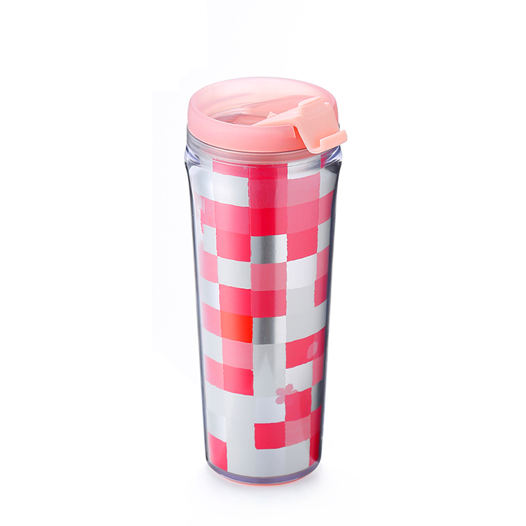 Gadget 2019 cold color changing cup custom plastic tumbler cups logo personalized custom cups for wedding return gift
