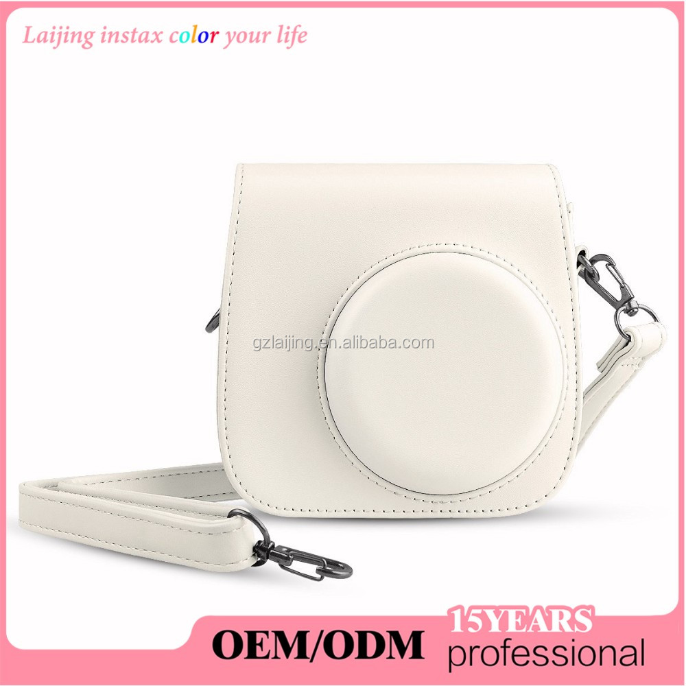 Laijing OEM ODM Ladies Girls Cute Camera Bag For Mini 8 / 8+ Instant Camera