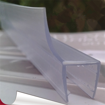 Top Quality Pvc Glass Shower Door Plastic Seal Weather Strip