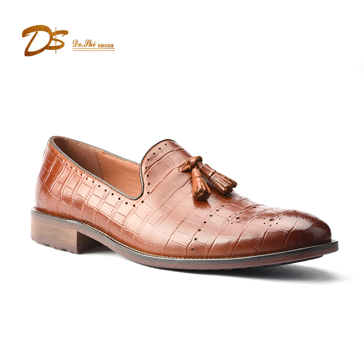 loafer style men european Hot casual shoe shoes leather on casual slip AT0Zdxwdq
