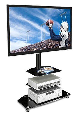 Buy Mount Factory Rolling Tv Stand Mobile Tv Cart For 32 65 Inch