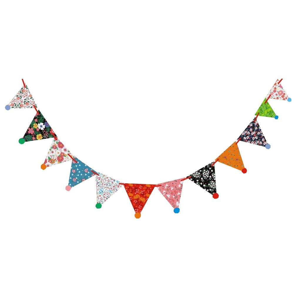 Glitter Paper Birthday Party Hanging Bunting Banner Flag: Cheap Birthday Bunting Flags, Find Birthday Bunting Flags
