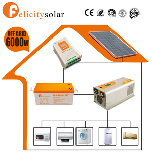 Easy installation off grid 6kw photovoltaic kit for Chad