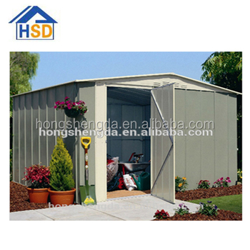 new popular flat pack garden shed / metal shed