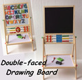 Baby Toys Double Faced Educational Wooden Multifunctional Blackboard Raise And Lower The Drawing Board Child Gift