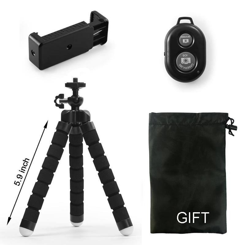 DUSZAKE гибкий Gorillapod Осьминог Мини штатив для телефона камеры Мини штативы для телефона Мобильный штатив для iPhone Samsung Xiaomi(Китай)
